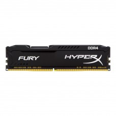 MEMÓRIA HYPERX FURY BLACK DDR4 2400MHz 4GB KINGSTON - HX424C15FB/4