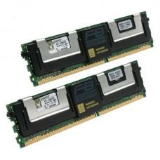 Memória DDR2 ECC FBDIMM 667MHz 4GB KIT (2X2GB)  - KINGSTON