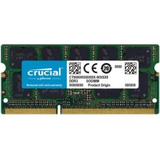 Memória SODIMM DDR3 1066MHz 4GB CRUCIAL - CT4G3S1067M