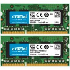 Memória SODIMM DDR3 1066MHz 8GB KIT (2X4GB) CRUCIAL - CT4G3S1067M