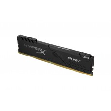 MEMÓRIA HYPERX FURY BLACK DDR4 2400MHz 8GB KINGSTON - HX424C15FB3/8