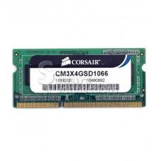 Memória SODIMM DDR3 1066MHz 4GB CORSAIR - CM3X4GSD1066