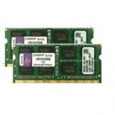 Memória SODIMM DDR3 1333MHz 16GB KIT (2x8GB) KINGSTON - KVR1333D3S9/8G