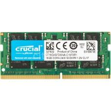 Memória SODIMM DDR4 2400MHz 16GB Crucial - CT16G4SFD824A