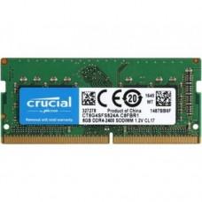Memória SODIMM DDR4 2400MHz 4GB CRUCIAL - CT4G4SFS824A