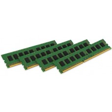Memória 32GB KIT (4X8GB) DDR3 ECC 1600MHz KINGSTON - KTH-PL316EK4/32G