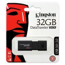 Pen drive 32GB DataTraveler 100 G3 KINGSTON - DT100G3/32GB